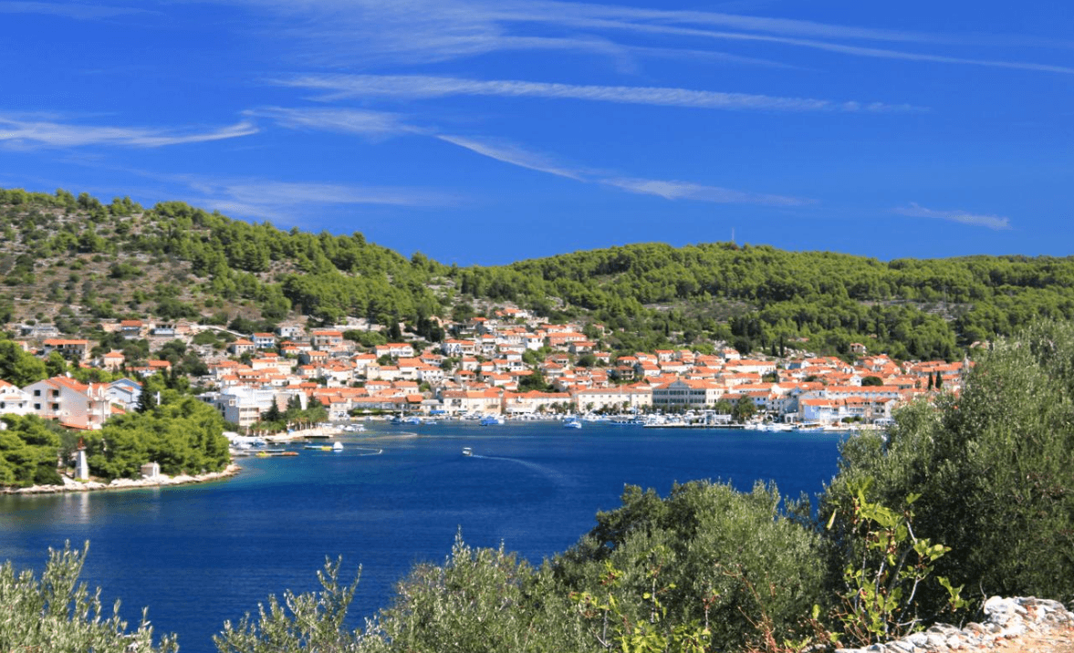 The Town of Vela Luka
